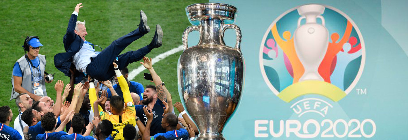 euro 2020 football ecran géant
